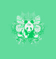 panda fairy vector image