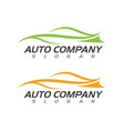 speed auto car logo template icon vector image
