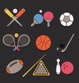 Sports icons vector image