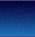 starry night sky square background vector image vector image