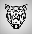 Tribal Bear vector image vector image