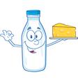 Water bottle cartoon vector image vector image