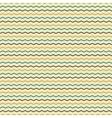 Zigzag retro seamless pattern vector image vector image