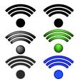 Set of Radio Icons vector image
