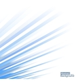 Abstract background blue lines design vector image vector image