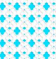 Colored 3D blue Marrakech vector image