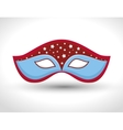 gondolier mask isolated icon vector image