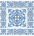 Retro Floor Tiles patern vector image vector image