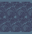 seamless chinese dragon texture vector image vector image