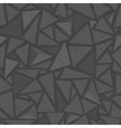 Sharp shapes grey triangles vector image