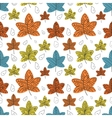 autumn leafs background Eps10 vector image vector image