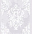 elegant baroque pattern background rich vector image vector image