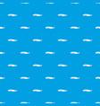 fresh sturgeon fish pattern seamless blue vector image vector image