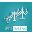 Hannukah design vector image vector image