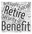 How Should You Prepare For Retirement text vector image vector image