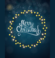 merry christmas and new year background vector image vector image