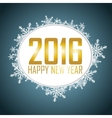New Year background with a speech bubble vector image