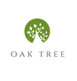 oak tree icon vector image vector image