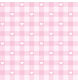 seamless pink valentines background full love vector image vector image