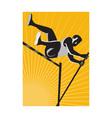 Vintage Athlete Jumper vector image vector image