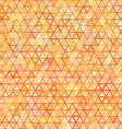 abstract ornate triangles seamless pattern vector image vector image