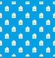 ballot box pattern seamless blue vector image vector image