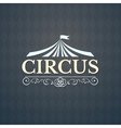 Circus vintage badge vector image vector image