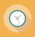 Clock Icon Flat vector image