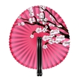 fan and blossom vector image vector image