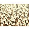 flock vector image vector image