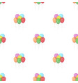 multicolored inable ballsparty and parties single vector image