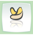 outline banana fruit icon Modern infographic logo vector image vector image