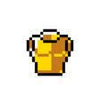 pixel object art vector image