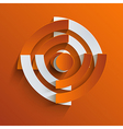 rss background Eps10 vector image vector image