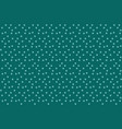 simple green blue polka background seamless vector image vector image