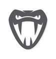 snake logo template Viper head symbol or vector image vector image