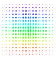 toilet persons icon halftone spectrum grid vector image