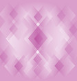 abstract diamond shape pink background wallpaper vector image vector image
