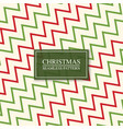 christmas seamless colorful zigzag pattern bright vector image vector image