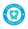Dentist symbols badge vector image vector image