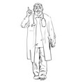 doctor recommended vector image