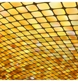 Golden business mosaic vector image vector image