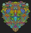 hand drawn decorative entangle vector image