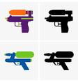 Water gun vector image vector image
