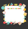 back to school back to school vector image