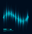 digital equalizer sound wave vector image