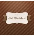 eid al-adha mubarak realistic tag