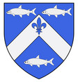 coat arms trois-rivieres in canada vector image vector image