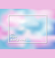 colorful blue and pink fluid background vector image