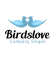 Dove Design vector image vector image